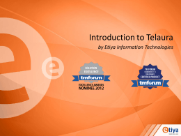 Introduction to Telaura