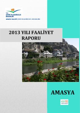 2013 Yılı Brifingi - Çevre ve Şehircilik Bakanlığı