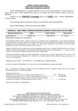 20 ağustos 2014 ihale listesi _pirinç şerit araişi