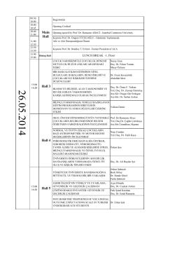 ICEC 2014 Conference Program