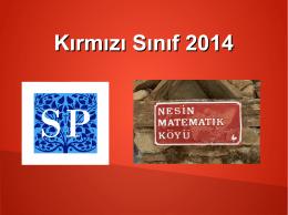 Kırmızı Sınıf 2014