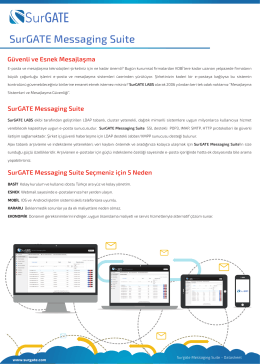 SurGATE Messaging Suite
