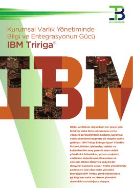 IBM Tririga® - BT Bilgi Teknolojileri