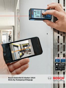 Bosch Elektrikli El Aletleri 2014 Ekim Ayı Kampanya Kitapçığı