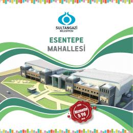ESENTEPE MAHALLESİ - Sultangazi Belediyesi