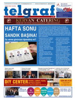 HAFTA SONU - Telgraf Gazetesi