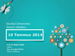 2013-2014 Bahar Akademik Kurul Toplantısı