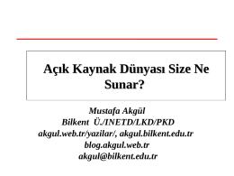 4-Doc.Dr.Mustafa Akgul