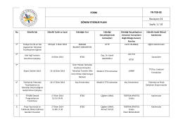 Ekim-Kasım-Aralık 2014 - Uludağ Üniversitesi Teknoloji Transfer Ofisi