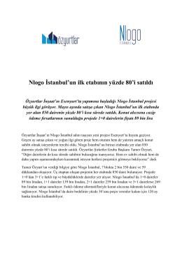 في المرحلة الاولى من مشروع Nlogo Istanbul لقد تم الوصول