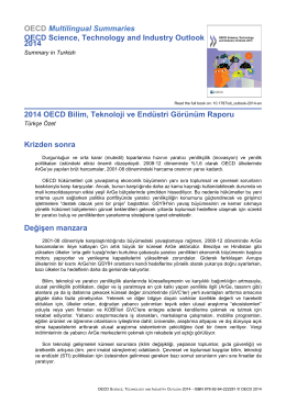 OECD Multilingual Summaries OECD Science, Technology and