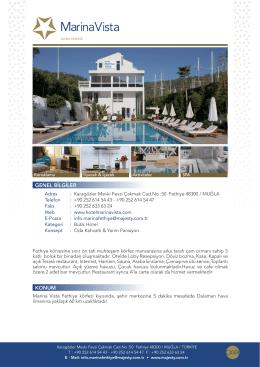 Konsept - Hotel Marina Vista