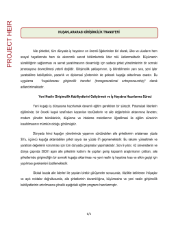 PRO JE CT HEIR - İstanbul Sanayi Odası