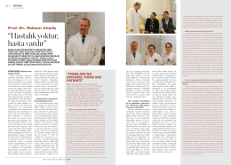 Bezmi Alem Gureba Vakıf Hastanesi Prof Doktor Mahmut Gümüş