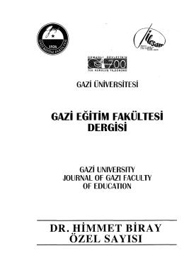 Türkmen Türkçesi ile Türkiye Türkçesinin Sentaks Bakımından