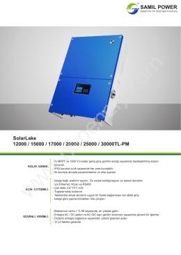 SolarLake 15kW-30kW