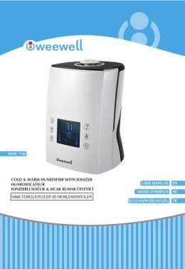 WHC750 Kullanım Kılavuzu