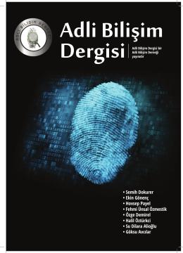 Adli Bilişim Dergisi • Semih Dokurer • Ekin