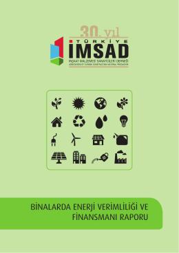binalarda enerji verimliliği ve finansmanı raporu