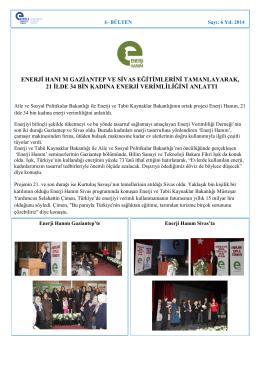 Mart 2014 - Enerji Verimliliği Derneği