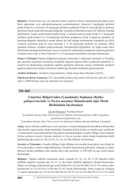 Çanakkale - Biyoloji Kongreleri