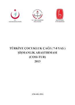 türkiye çocukluk çağı - Halk Sağlığı Enstitüsü