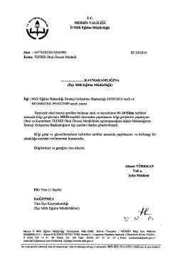 ,02 P İh - Mersin İl Milli Eğitim Müdürlüğü
