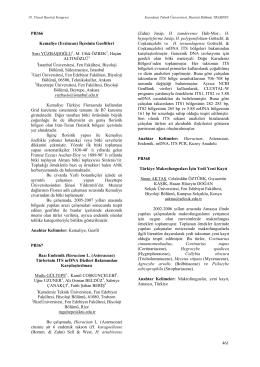 Bazı Endemik Hieracium L. (Asteraceae)