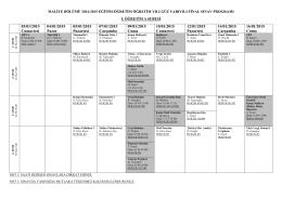 Maliye final sınav programı