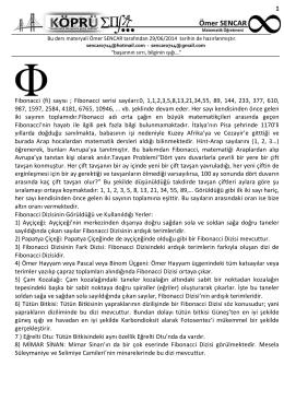 (fi) sayısı - www.omersencar.com