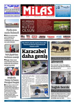 03.10.2014 cuma  - Milas Medya Arşivi