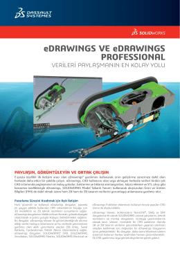eDrawings veri sayfası