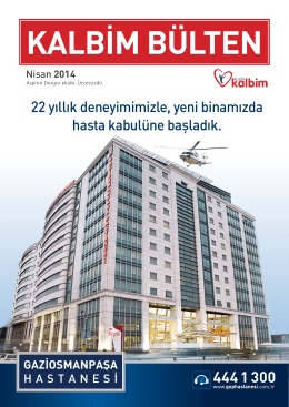 Publication - Özel Gaziosmanpaşa Hastanesi