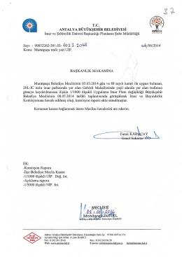 Gündemin 37.Maddesi - Antalya Belediyesi