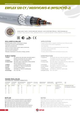 ERFLEX 120 CY / H05VVC4V5-K (NYSLYCYÖ-J)