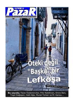sayı 473.p65 - Afrika Gazetesi