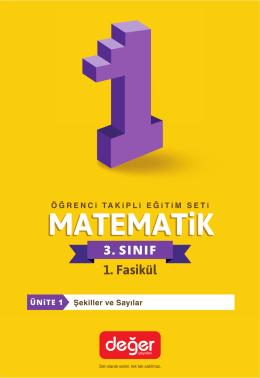 Matematik Örnek Sayfaları İçin Tıklayınız