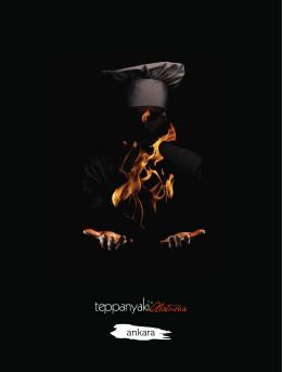 + alakart menü - Teppanyaki Alaturka