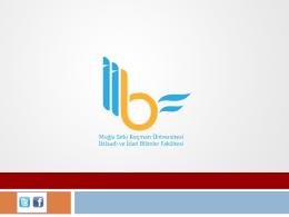 İşletme Bölümü - Muğla Üniversitesi