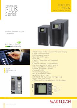 Powerpack Plus Serisi 1-3 kVA