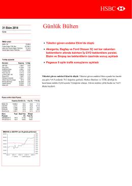 31-10-14 - HSBC Portföy Yönetimi