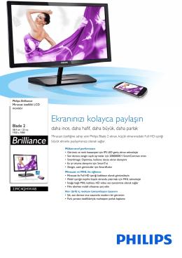 239C4QHWAB/00 Philips Miracast özellikli LCD monitör