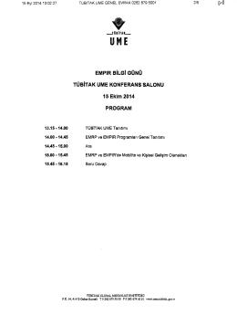 Program/Katılım Formu(4 Sayfa)