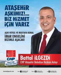 Mustafa Kemal ve Aşık Veysel Mahalleleri Hizmet