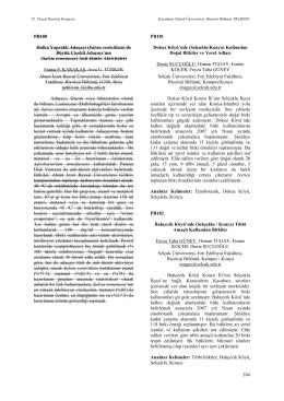 Selçuklu/Konya - Biyoloji Kongreleri