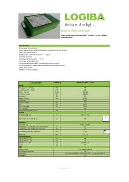 Model No: NRDR-100HPS 1-10V