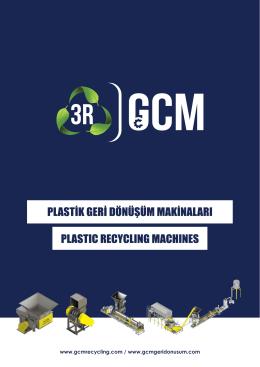 www.gcmrecycling.com / www.gcmgeridonusum.com