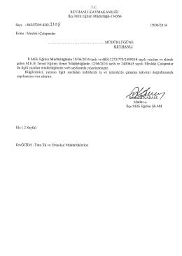 s - reyhanlı ilçe millî eğitim müdürlüğü