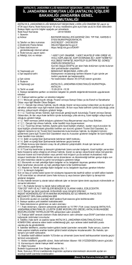 05.09.2014 Jandarma İl K Beşkonak Onarım Işi