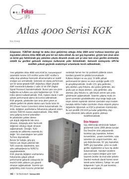 3E Electrotech Dergisi Makale Temmuz 2014